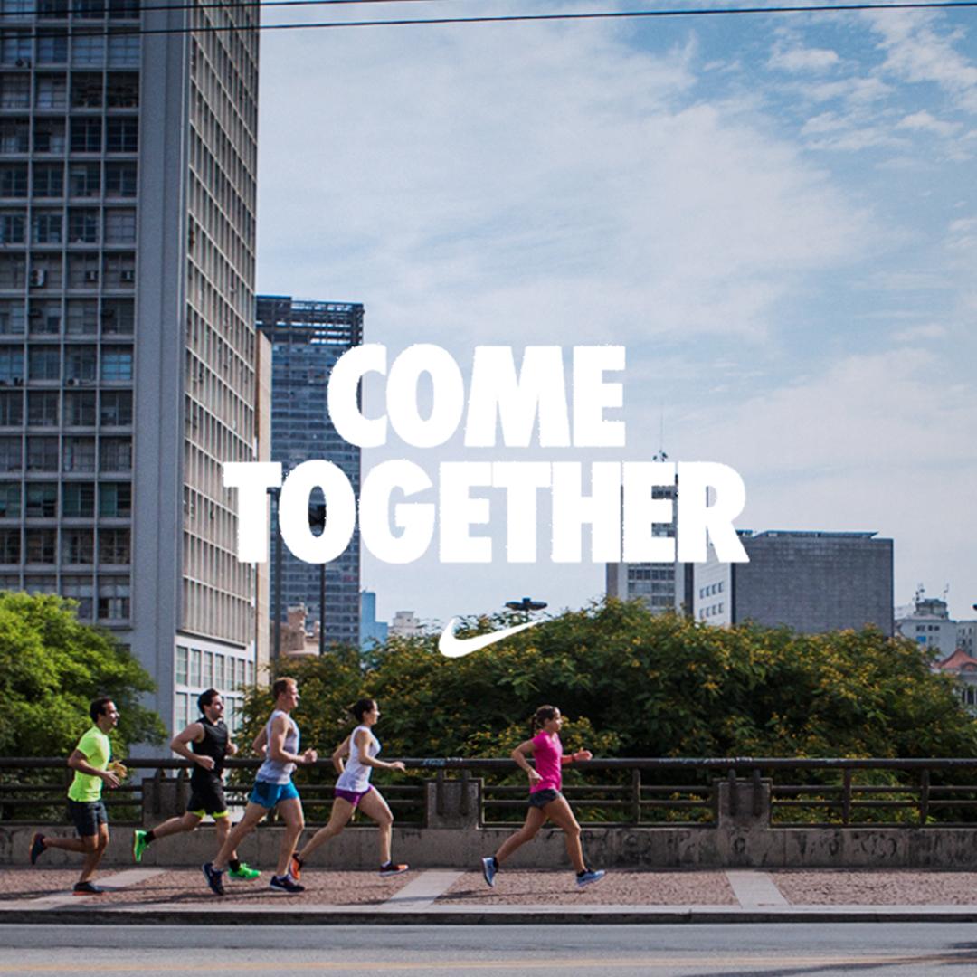 Nike Vem Junto, running platform